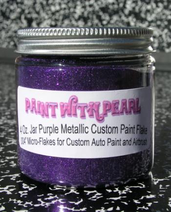 Purple Metal Flake - PWP Mobile