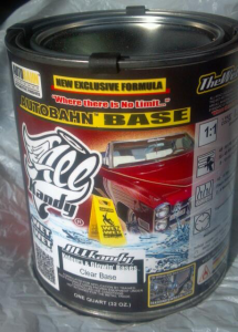 All Kandy Base Coat Clear coat for mixing our pigments. A great base clear by All Kandy Paints.