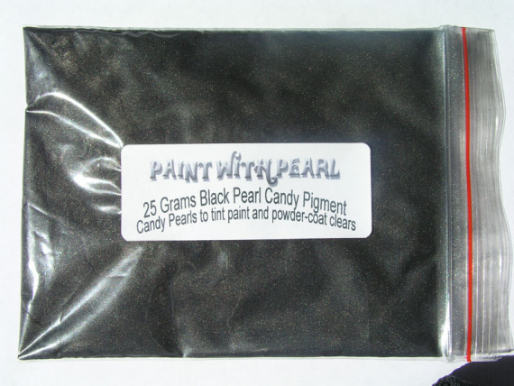 25 Gram Bag Gunmetal Black Candy Pearls ®.