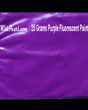 25 gram bag of purple-fluorescent-paint-pigment