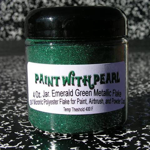 Emerald Green Metal Flake