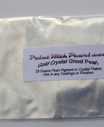 25 gram bag of Gold Crystal Ghost Pearl
