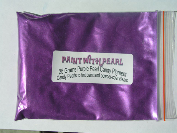 25 gram bag of Purple Candy Pearl