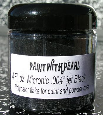 Jet Black Metal Flake