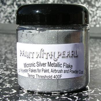 Silver Metal Flake