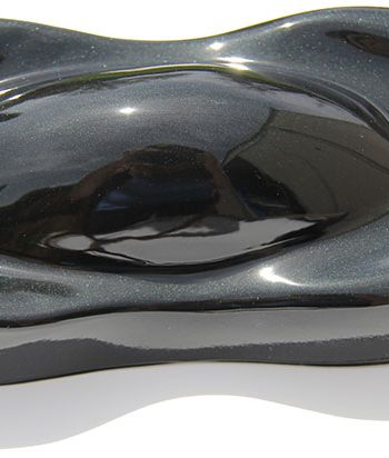 Black Emerald Candy Pearl is our darkest black. It is basically Jet Black with a subtle hint of Green Pearl in it.