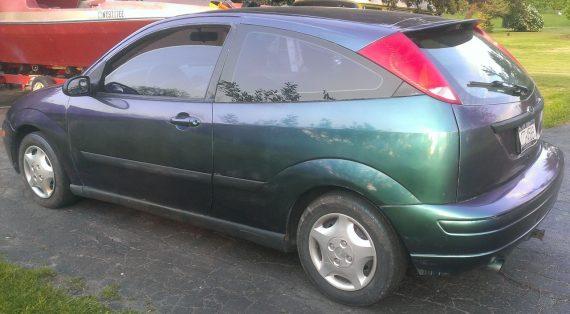 red green blue 4739RG chameleon on ford focus